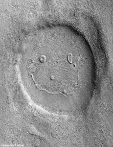 The other face on Mars